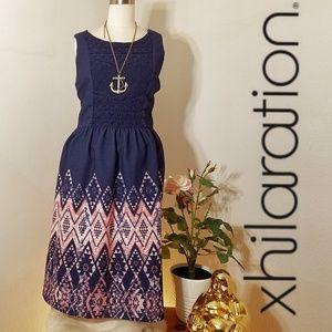 Xhilaration plus size xxl geometric lace dress